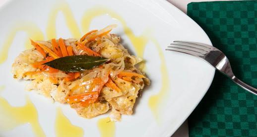 Filetti di persico in carpione